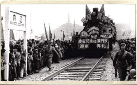 """【新中国的""""第一""""·70年】成渝铁路:新中国第一条铁路"""